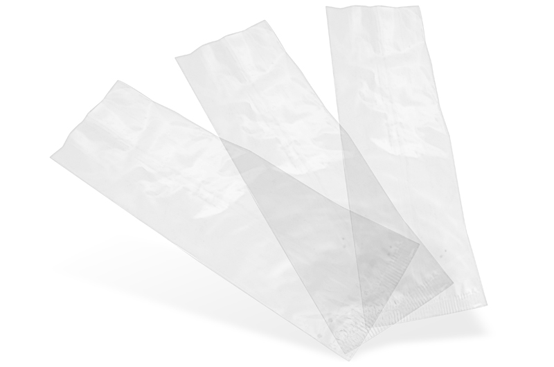 70x210mm Clear NatureFlex Bag - Down2Earth Materials