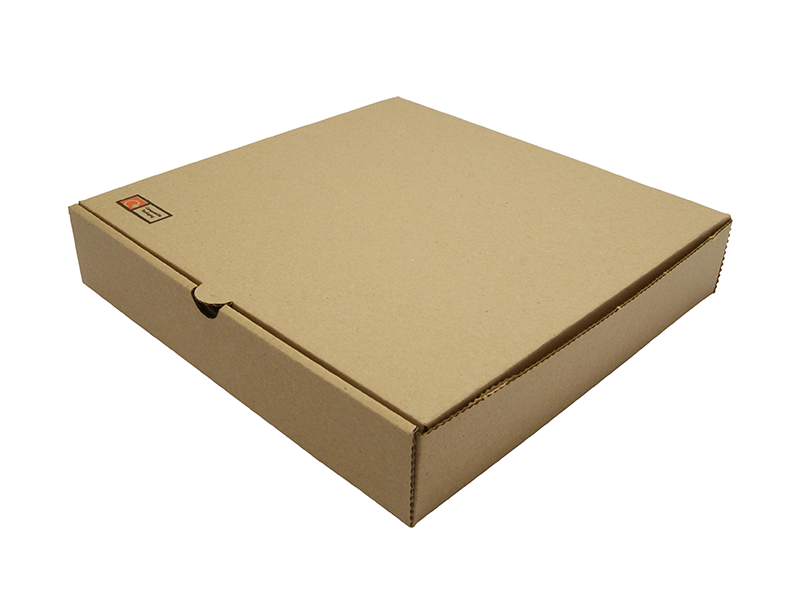 9in Brown Kraft Pizza Box Down2earth Materials