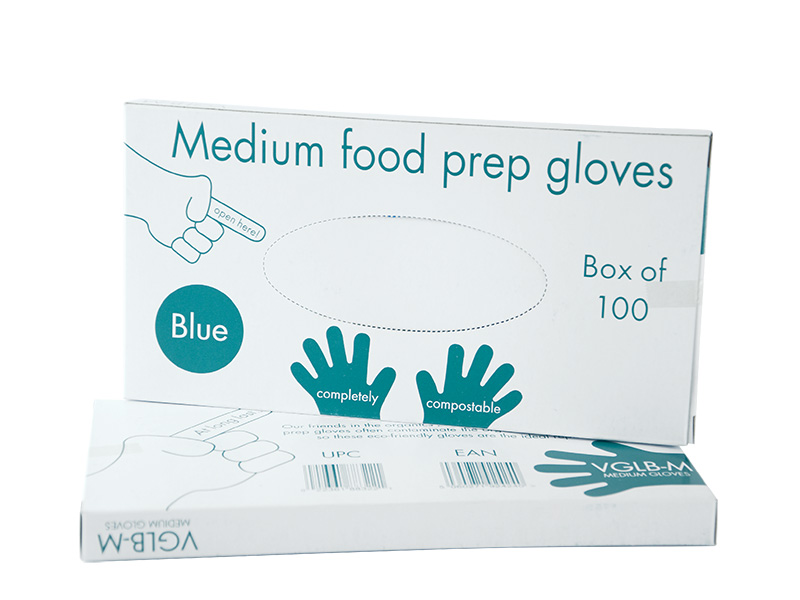 Medium Food Prep Gloves Blue Down2earth Materials