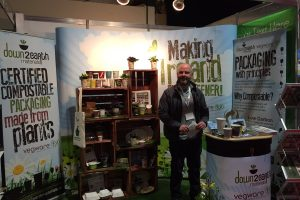 Our John manning the stand!